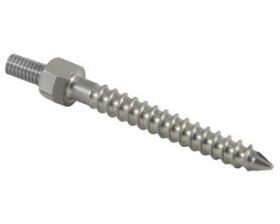 Crescent Hemispherical Monoaxial Screw